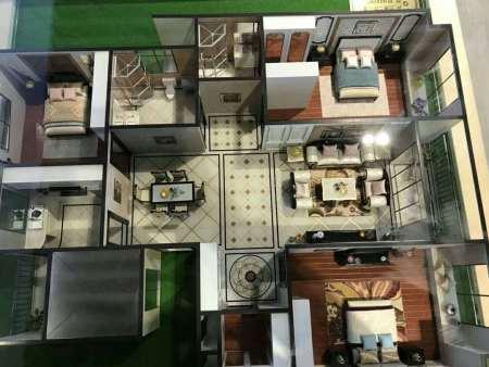 杭州家庭户型模型